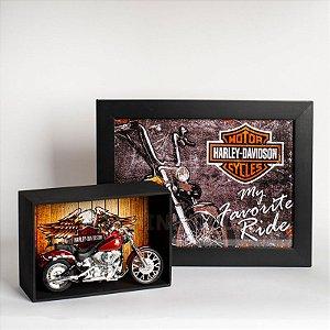 Kit Miniatura Harley-Davidson com Expositor - 22