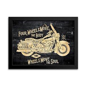Quadro Harley-Davidson Decoração