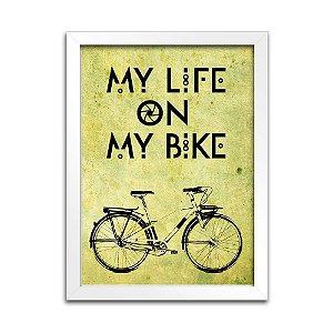Quadro Bicicleta Decoração