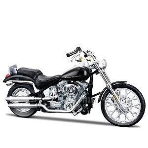 Miniatura Moto Harley-Davidson 2000 FXSTD Softail Deuce Maisto 1:18