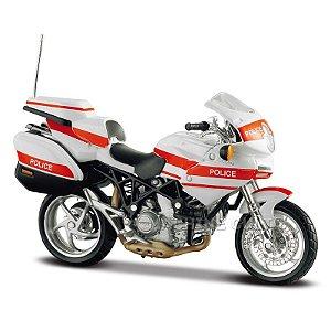 Miniatura Ducati Police 1000DS Maisto 1:18