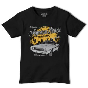 Camiseta Carro Dodge Challenger RT - Muscle Car