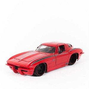Miniatura Chevy Corvette Sting Ray 1963 - Jada 1:24