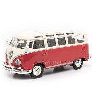 Miniatura Volkswagen Van Samba - Maisto - 1:24