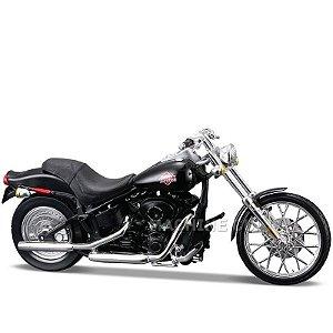 Miniatura Moto Harley-Davidson 2002 FXSTB Night Train Maisto 1:18