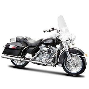 Miniatura Moto Harley-Davidson 1999 FLHR Road King Maisto 1:18