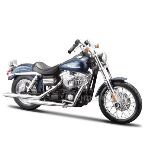 Miniatura Harley-Davidson 2006 FXDBI Dyna Street Bob - Maisto 1:12