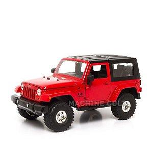 Miniatura Jeep Wrangler 2007 - Vermelho - Jada 1:24