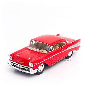 Miniatura Chevrolet Bel Air 1957 Vermelho - 1:40
