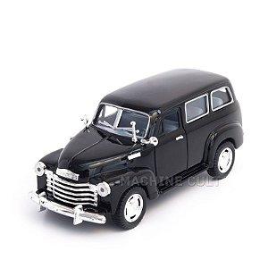 Miniatura Chevrolet Suburban 1950 Preto - 1:36