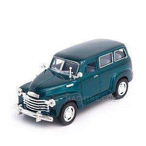 Miniatura Chevrolet Suburban 1950 Verde - 1:36