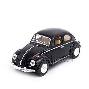 Miniatura Fusca 1967 Preto - 1:32