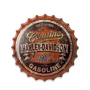 Placa Harley-Davidson M1 - Alto Relevo