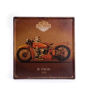 Placa Decorativa Harley-Davidson 1929