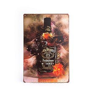 Placa Jack Daniel's Decorativa
