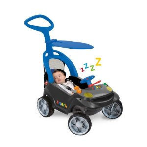 Smart Baby Comfort Graf/Azul - Bandeirante