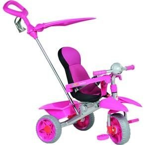 Triciclo Smart Comfort Pink - Bandeirante