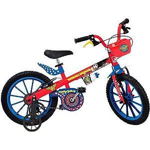Bicicleta Aro 16 Mulher Maravilha  - Bandeirante
