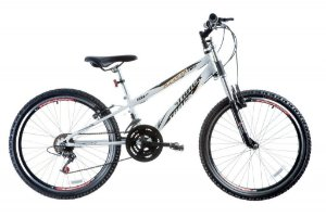 "Bicicleta Dragon Fire Aro 24"" 18 Marchas Branco - Track & Bikes"