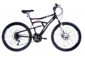 Bicicleta TB-500 Aro 26 MTB Disk Brake com Duplas Suspensão Preto - Track & Bikes