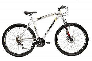 Bicicleta TB Niner Aro Aero 29  MTB Aço 21v  Disk Brack Branco - Track & Bikes