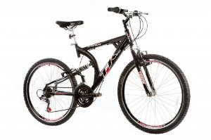 Bicicleta TK 400  Aro 26 Full Alumínio Aero Dupla Suspensão - Track & Bikes