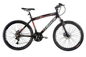 "Bicicleta TK480 Aro 26"" Alumínio Disk Brake 21 Velocidades - Track & Bikes"