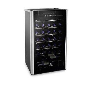 Adega Climatizada Electrolux 34 Garrafas ACS34 1 Porta Preto