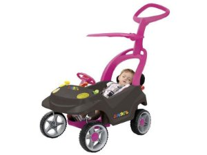 Smart Baby Comfort Graf/Rosa - Bandeirante