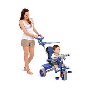 Triciclo Smart Comfort Azul - Bandeirante