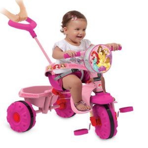 Triciclo Smart Princesas Disney - Bandeirante