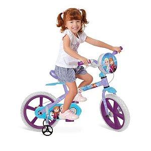 Bicicleta 14 Frozen Disney - Bandeirante