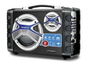 Caixa Multi Connect Mondial MCO-03 Thunder III USB, SD, Auxiliares, Microfone,  50W RMS Bivolt