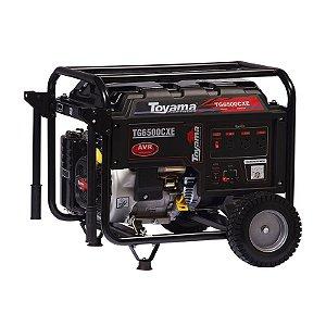 Gerador Gasolina Monofásico TG6500CXE - Toyama
