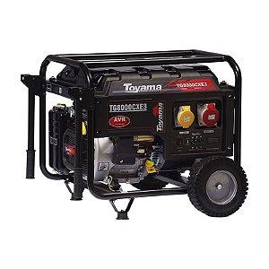 Gerador Gasolina Monofásico TG8000CXE - Toyama