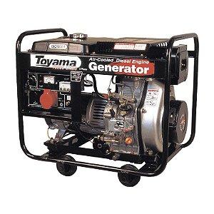 Grupo Gerador Diesel Monofásico TD6000CXE - Toyama