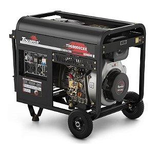 Grupo Gerador Diesel Monofásico TDG8000CXEB - Toyama