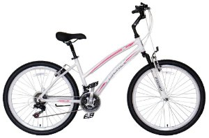 Bicicleta Fischer FStar Aro 26 Feminino V-Brake Branca