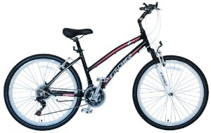 Bicicleta Fischer FStar Aro 26 Feminino V-Brake Preta