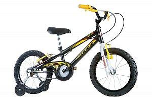 Bicicleta Track Boy Aro 16 Azul/Amarelo - Track & Bikes