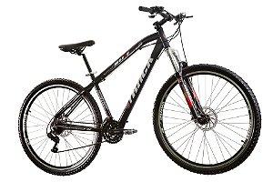 "Bicicleta TK 29 Aro 29"" Disk Break 21 Velocidades Alumínio Preto - Track & Bikes"