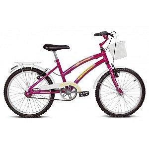 Bicicleta Aro 20 Breeze Roxo/Branco - Verden