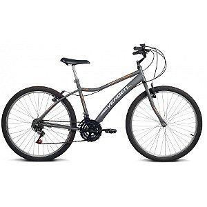 Bicicleta Aro 26 Achieve Grafite 18 velocidades - Verden Bikes