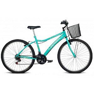 Bicicleta Aro 26 Achieve Turquesa 18 velocidades - Verden Bikes