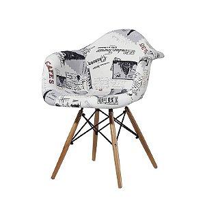 Cadeira Angel Estofada - Falkk