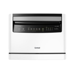 Lava-louça Consul Facilite CLC06AB Compacta 6 Serviços Branca