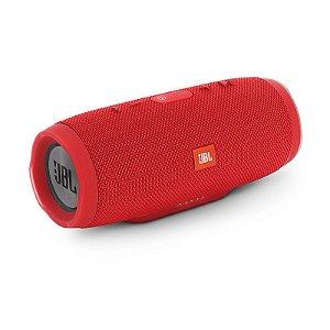 Caixa de Som Bluetooth JBL Charge 3 Vermelho