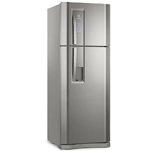 Refrigerador Electrolux Frost Free DW54X Inox 456 Litros 2 Porta