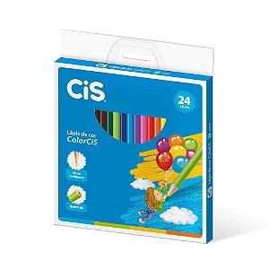 Lápis De Cor Cis ColorCiS Madeira 24 Cores