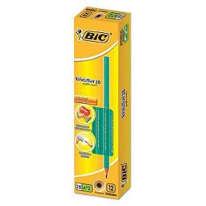 Lápis Preto Bic Evolution Nº2 12 Unidades